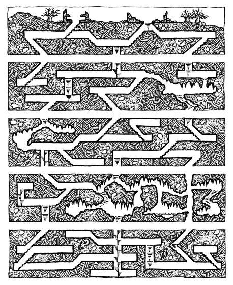 Sideways-Geomorphs