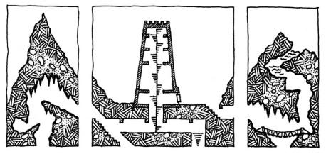 Dark Tower Vertical Geomorphs