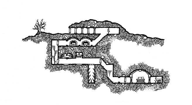 Burial Crypt Small